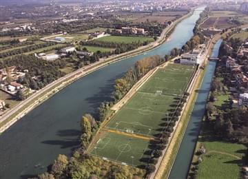 Training Center Bottagisio Chievo Verona Italia