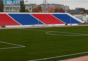gazon synthétique pavlodar stadium kazakshstan