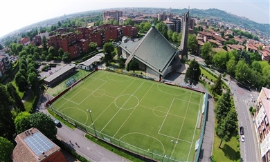 gazon synthétique pour les terrains de football à 7