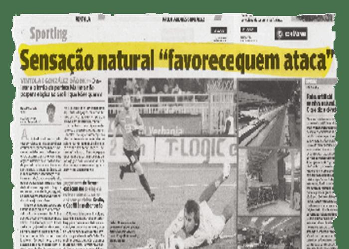 « La sensation naturelle en faveur de l'attaquant » - O JOGO - 11/11/2010